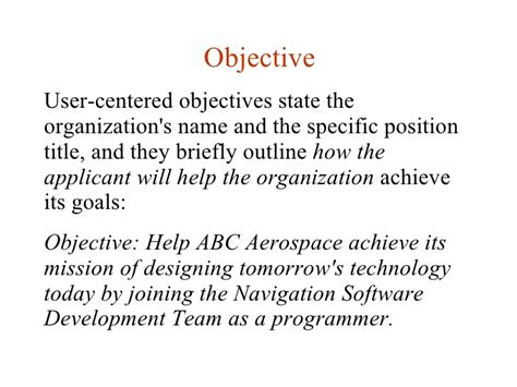 What Does Objective In A Resume by What Does Objective In A Resume Resume Ideas