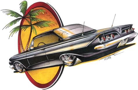 T Shirt 61 chevrolet 61 chevy impala bubbletop classic car t shirt