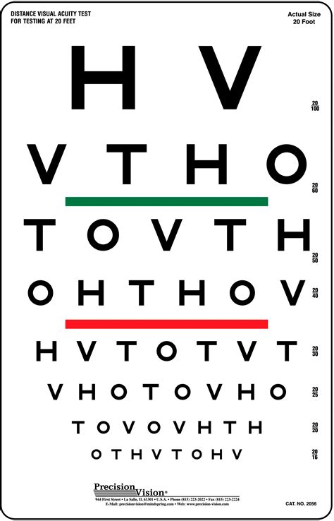 eye test hotv chart hotv eye test chart for near distance single