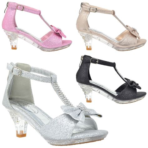 children high heels s high heel dress sandals evening t bow