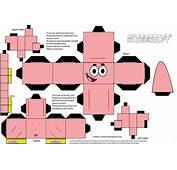 I Giochi Di Carta Patrick Amico Spongebob Papercraft