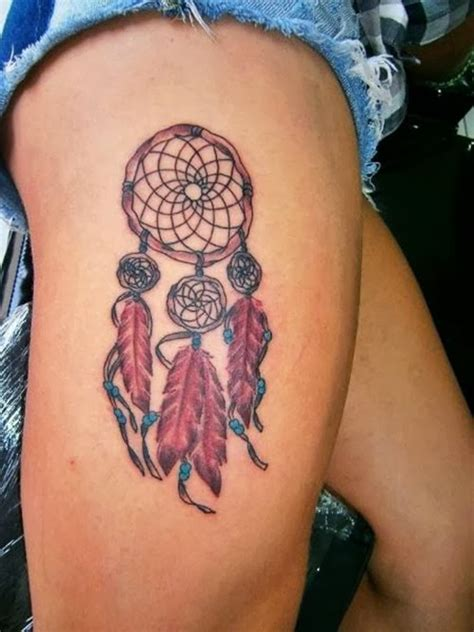 flames onthesideofmyface dreamcatcher tattoo ideas