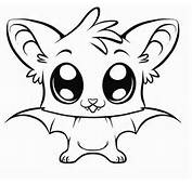 Cute Coloring Pages Of Animals