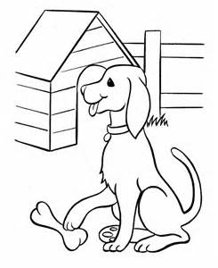 Printable Animal Coloring Pages Dog sketch template