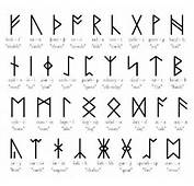 Were A Set Of Related Alphabets Using Letters Known As Runes