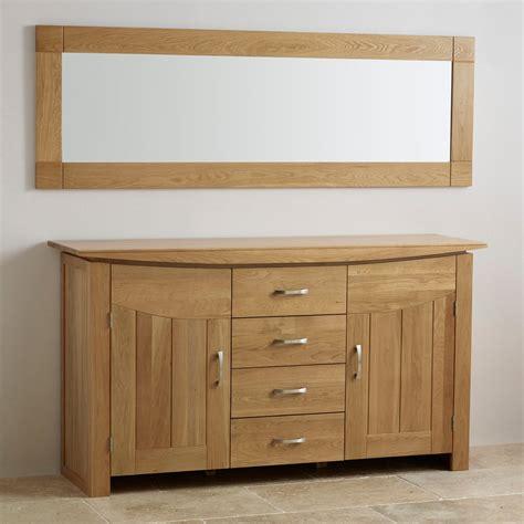 modern oak bedroom furniture contemporary natural solid oak wall mirror 1800mm x 600mm
