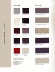 Cadillac Interior Colors Interior Color Codes