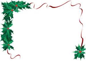 Christmas holly border clip art clipart best