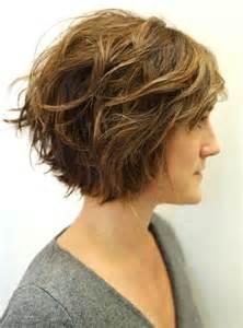 Layered wavy hairstyles for short hair women haircuts ideas 2015