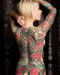 Rose Tattoos On Back  Women Fashion And Lifestyles