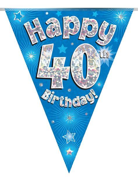 Bunting Flag Birthday Bunting Flag 40th Birthday Bunting Flags To Buy