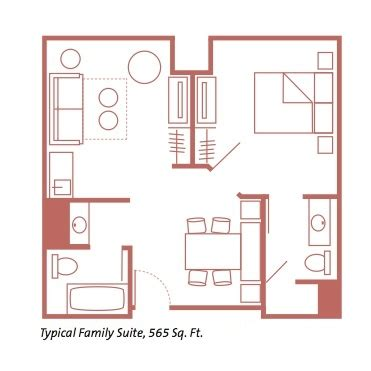 Disney World All Family Suite Floor Plan - disney world resort reviews best values mousesavers