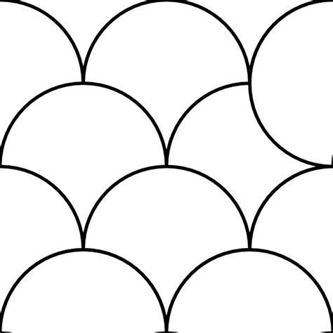pattern art circle circles pattern tile clip art at clker com vector clip