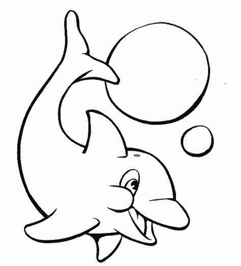 Dolphin Coloring Pages Coloring Pages To Print Colouring Page