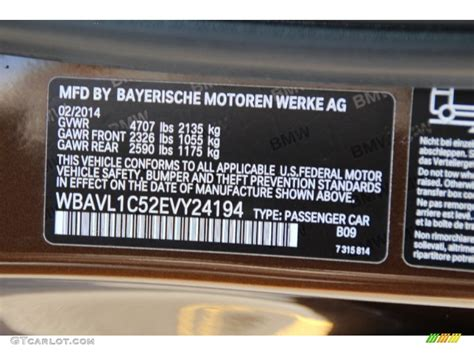 2014 x1 color code b09 for marrakesh brown metallic photo 96889827 gtcarlot