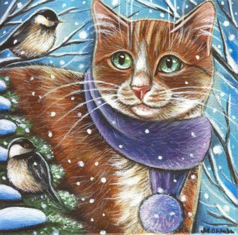 372 best cats and snow winter images on pinterest snow