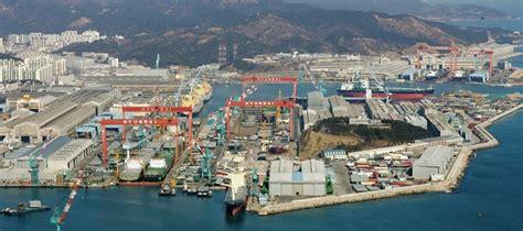 Hyundai Shipyard by Hhi Set To Gunsan Shipyard Shipping Herald