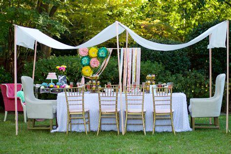 Garden Tea Baby Shower Ideas by Garden Baby Shower