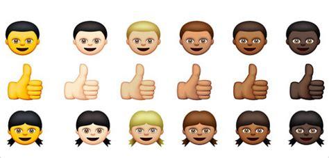 emoji baru whatsapp tambahkan emoticon warna baru apple malah dikritik rasis