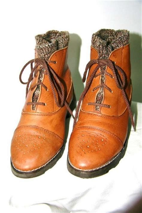 Winter Vintage Boots vintage boots quot winter boots quot by madisonvintage chictopia