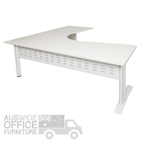 white corner workstation desk rapidline rapid span corner workstation desk office