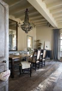 Rustic Dining Room Decor by Back To Decorating With A Vintage Farmhouse Inspiration