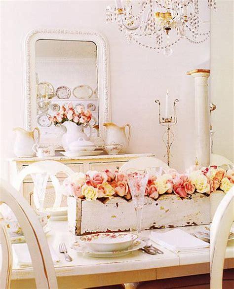 romantic decorating ideas beautiful home pinterest estilo shabby chic en el comedor decoracion in
