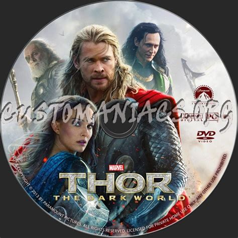 quot thor the dark world quot plot summary and details forum tomkru labels dvd covers labels by customaniacs