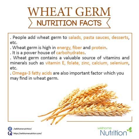 wheat nutrition facts