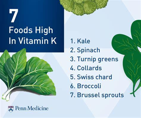 vitamin k vegetables warfarin how can you keep vitamin k levels consistent