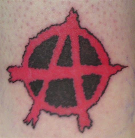 anarchist tattoo anarchy tattoos and designs page 45