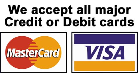 We Do Not Accept Credit Debit Cards Sign Template by Southern Suburbs Plumbing Services Local Plumber 24 7