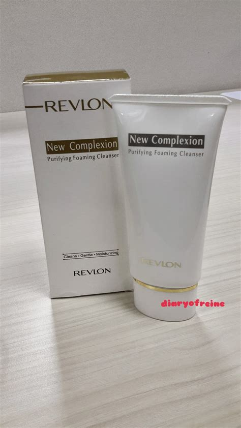 Pembersih Revlon Diaryofreine New Complexion Purrfying Foaming Cleanser