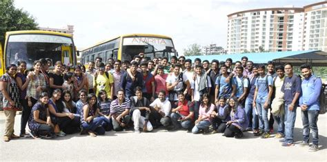 Mba Mississippi by Mba Ms 2015 17 Batch Leave For Course At Suny Buffalo