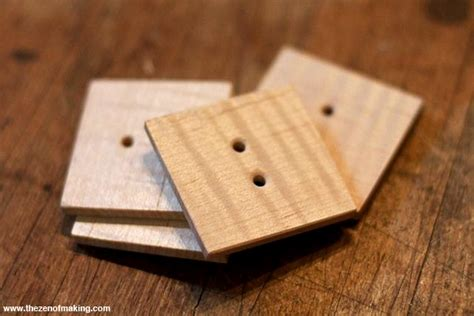 tutorial make your own wooden buttons the zen of making