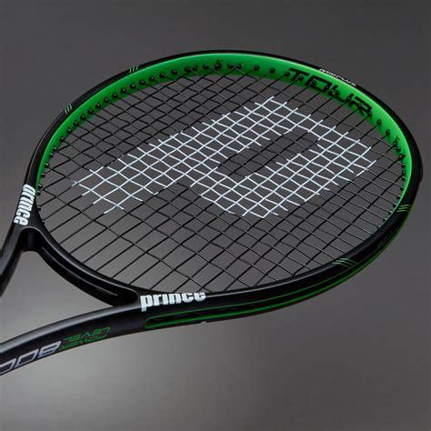 Raket Tenis raket tenis prince textreme tour 100p black green