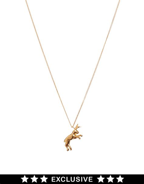 Lees Label At Asoscom by Exclusive For Asos Hare Necklace At Asos