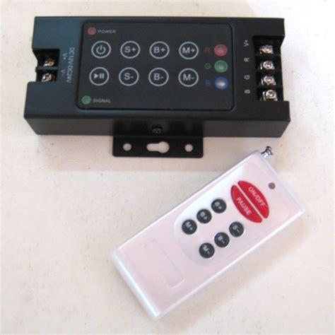 Promo Controller Led Rgb Dc 12v 24v 24a Remote Infrared 1 Rgb Led Remote Controller 25 Programs Rf Handheld