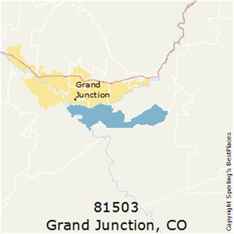 zip code map grand junction co best places to live in grand junction zip 81503 colorado