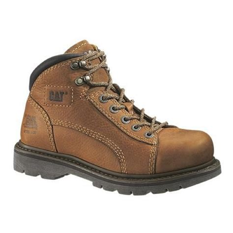 Cat Shoes Portal Mid P718296 cat footwear s lander brown leather mid boots 73587