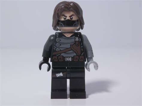 Lego Brick Decool Civil War Winter Soldier Minifigure Baru Lego lego store exclusive the winter soldier brickmaster reviews