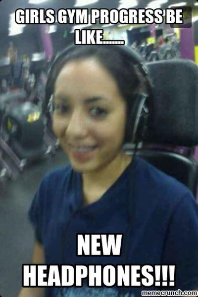 Girls At The Gym Meme - girls gym progress be like
