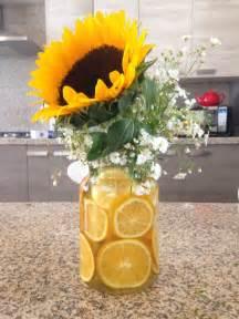 sunflower centerpieces for wedding sunflower centerpiece by gabs diy