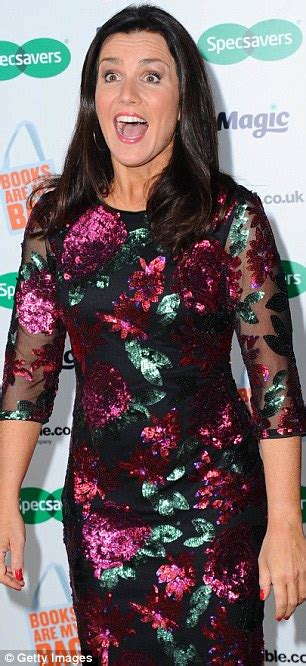 Gmb Dress Berry susanna sparkles as she hosts book awards daily mail