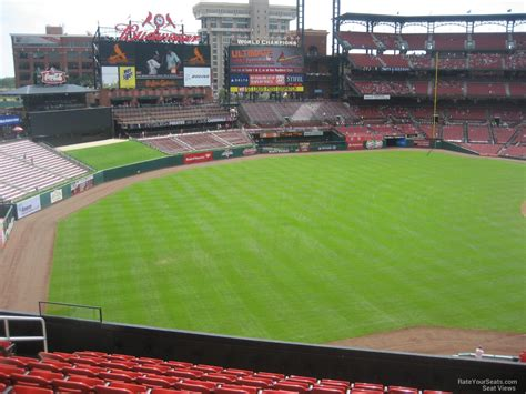 section 267 a busch stadium section 267 rateyourseats com