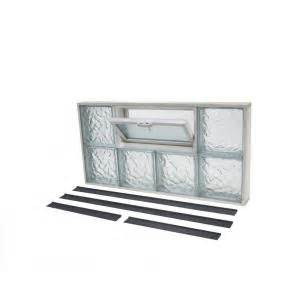 Pictures of Glass Block Windows With Vent