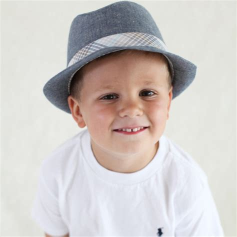 Boy Hat baby fedora hats tag hats