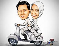 Karikatur Muslim
