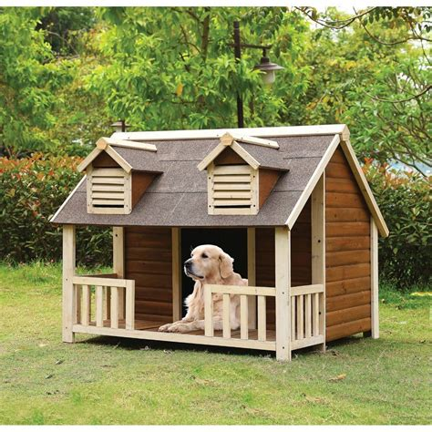 big dog house ideas adirondack cabin dog house bigdiyideas com