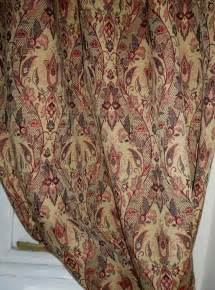 Window Curtains Sizes Made To Measure Italian Gold Tapestry Curtains Interlined